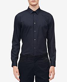 Calvin Klein Men's Infinite Diamond-Print Shirt