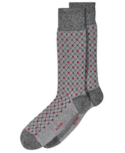 Alfani Men's Box-Diamond Socks, Created for Macy's