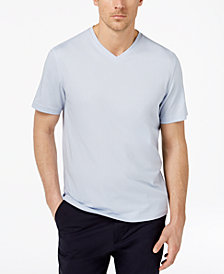 Tasso Elba Men's Supima Blend Cotton  V-Neck T-Shirt, Created for Macy's
