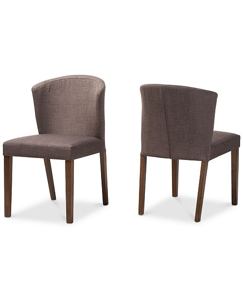 Furniture Needa Dining Chair (Set Of 2), Quick Ship