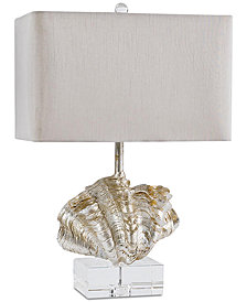 Regina Andrew Design Silver Giant Clam Shell Table Lamp