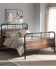 Everil Bed Collection, Quick Ship