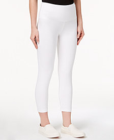 Style & Co Petite Cropped Yoga Leggings, Created for Macy's