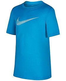 Nike Dri-FIT Legend Graphic-Print T-Shirt, Big Boys