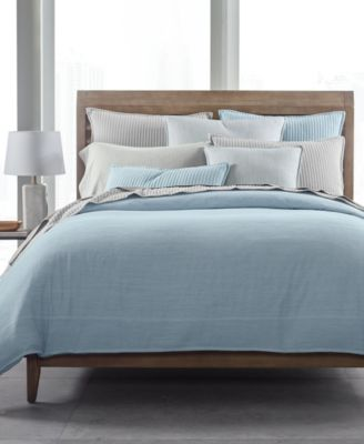 525-Thread Count Yarn Dyed Standard Sham, Created for Macy's
