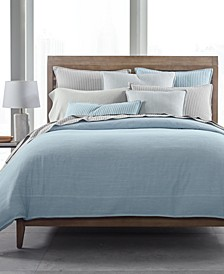 CLOSEOUT! 525-Thread Count Yarn Dyed Duvet Covers, Created for Macy's