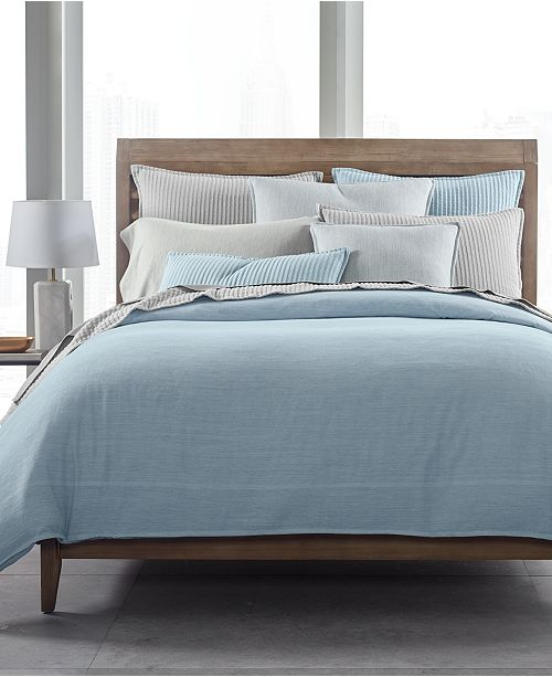 Hotel Collection  CLOSEOUT! 525-Thread Count Yarn Dyed Bedding Collection, Created for Macy's