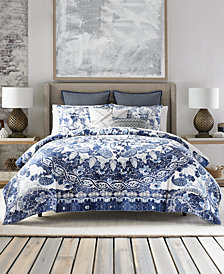 Tommy Hilfiger Bohemian Beach Cotton Reversible 3-Pc. King Duvet Cover Set