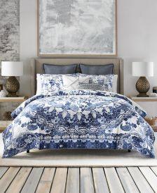 Bohemian Beach Reversible 3-Pc. Full/Queen Comforter Set