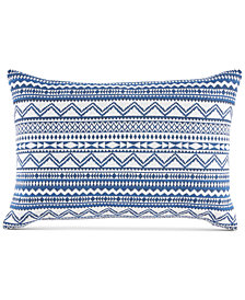 "Tommy Hilfiger Poucha Pond 12"" x 18"" Decorataive Pillow"