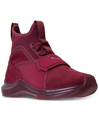 Puma Women S Phenom Suede Casual Sneakers From Finish Line Finish