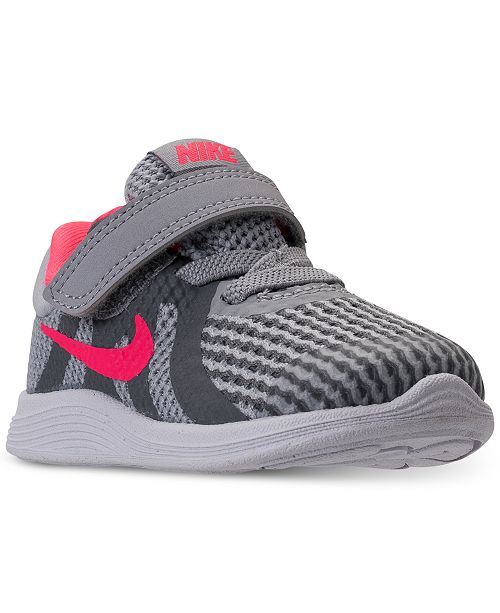6d88a865284bc Nike Toddler Girls  Revolution 4 Athletic Sneakers from Finish Line ...
