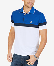 Nautica Men's Colorblocked Performance Polo