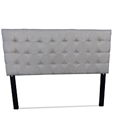 Careen Adjustable Full/Queen Headboard, Quick Ship
