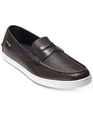 Cole Haan Men's Pinch Weekender Embossed Weave Slip-Ons Men's Shoes 5702203