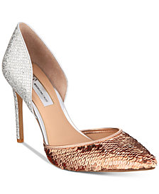 I.N.C. Women's Koree d'Orsay Pointed Toe Pumps, Created for Macy's