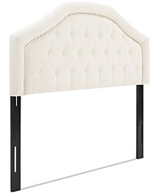 Putnee Adjustable Full/Queen Headboard, Quick Ship