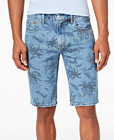 Levi's® Men's 502™ Classic-Fit Tapered Stretch Denim Shorts
