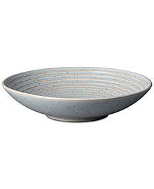 Denby Studio  Blue Pebble Medium Ridged Bowl
