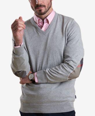 button down shirt under sweater men
