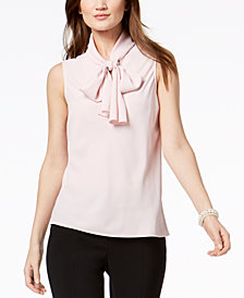 Nine West Tie-Front Top