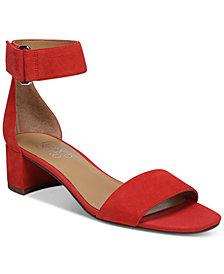 Franco Sarto Rosalina Two-Piece Block-Heel Dress Sandals