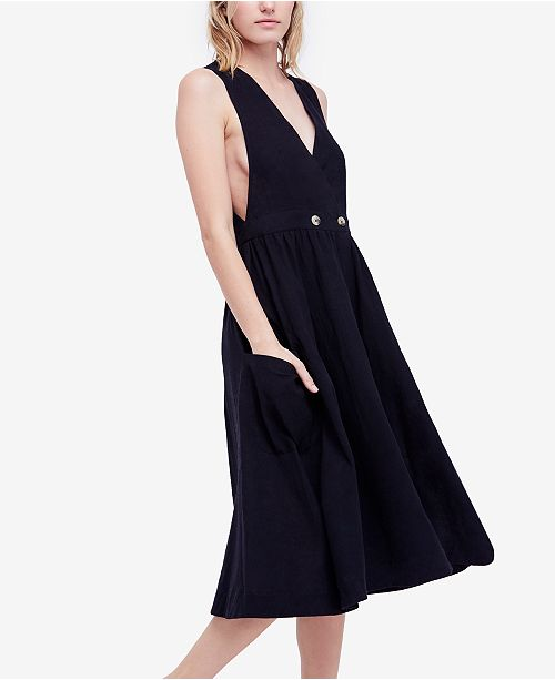 Free People Diana Sleeveless Wrap Dress