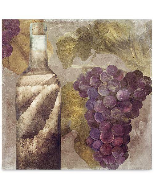 "Trademark Global Color Bakery 'Tuscany Dreams II' Canvas Art - 18"" x 2"" x 18"""
