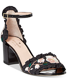 kate spade new york Wayne Embroidered Dress Sandals