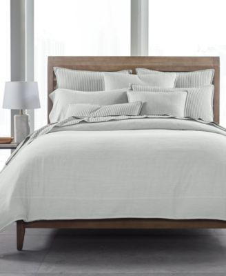 525-Thread Count Yarn Dyed Twin Duvet Cover, Created for Macy's