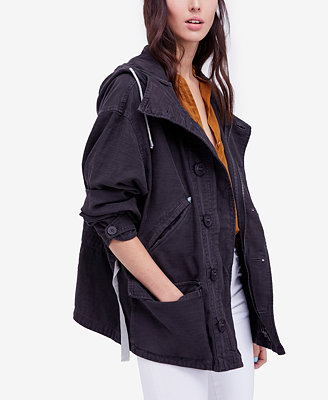 Joshua Tree Cotton Hooded Jacket by Free People