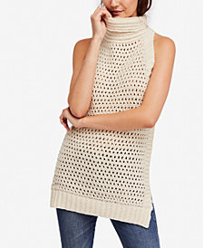 Free People Northern Lights Sleeveless Crochet Sweater