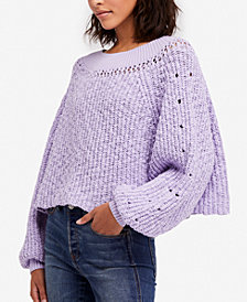 Free People Pandora Boat-Neck Sweater