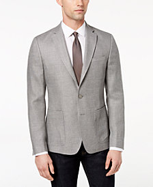 CLOSEOUT! DKNY Men's Modern-Fit Neat Sport Coat