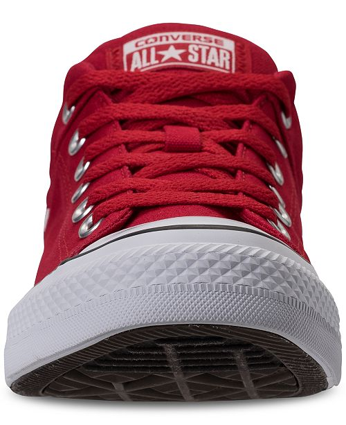 3304890a080 ... Converse Men s Chuck Taylor All Star Wordmark Low Top Casual Sneakers  from Finish ...