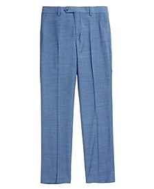 Solid Blue Suit Pants, Big Boys