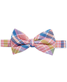 Lauren Ralph Lauren Plaid Silk Bow Tie, Big Boys