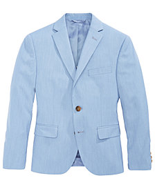 Lauren Ralph Lauren Striped Suit Jacket, Big Boys