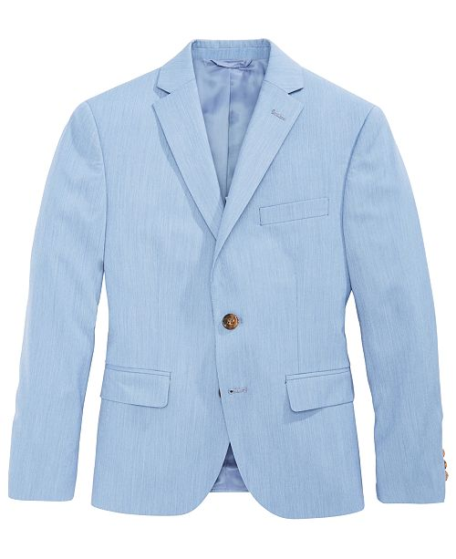 91908de9 Lauren Ralph Lauren Striped Suit Jacket, Big Boys & Reviews - Coats ...