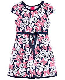 Disney's® Little Girls Minnie Mouse Fit & Flare Dress