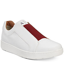 A|X Armani Exchange Men's Slip-On Sneakers With Color-Block Detail