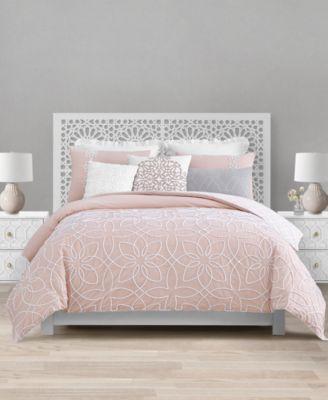 Catarina 8-Pc. Queen Reversible Comforter Set