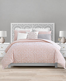 CLOSEOUT! Lacourte Catarina 8-Pc. Queen Reversible Comforter Set