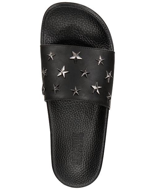 cad32c169b37 ... Kenneth Cole Reaction Men s Screen Star-Studded Slide Sandals ...