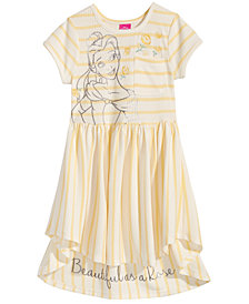 Disney's Beauty & The Beast Belle Striped Dress, Little Girls