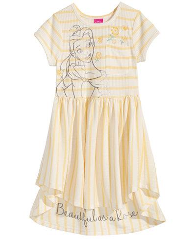 Disney's Beauty & The Beast Belle Striped Dress, Little Girls
