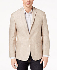 Ryan Seacrest Distinction™ Men's Modern-Fit Solid Linen Sport Coat, Created for Macy's