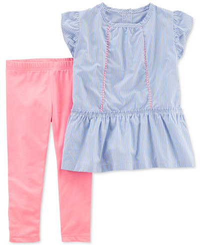 Carter's 2-Pc. Tunic & Leggings Set, Little Girls & Big Girls