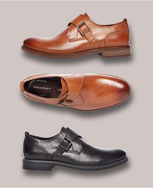 1a63e79533fd4 Rockport Men's Wynstin Monk Strap Oxfords, Created for Macy's ...