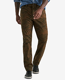 Lucky Brand Men's 410 Athletic Slim Fit Camo Pants